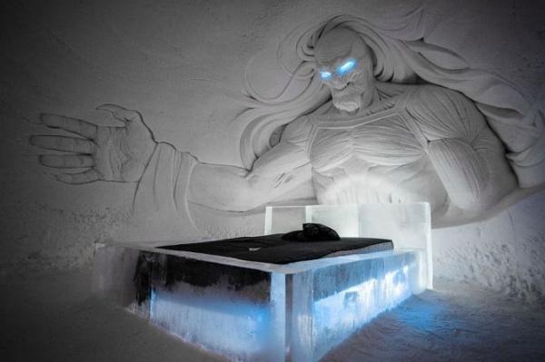 ba469edc484d75fb5e3acc6f7223cc56 - В Лапландии открыли ледяной отель в стиле телесериала «Игра престолов», Финляндия