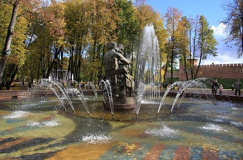 Fontan Sadko v Kremlyevskom parke - Fontan-Sadko-v-Kremlyevskom-parke