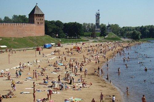 Kremlevskiy plyazh - Великий Новгород