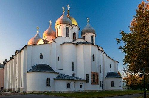 Sofiyskiy sobor v Velikom Novgorode - Великий Новгород