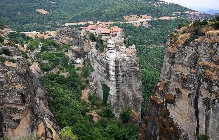 Monastyri Meteory - Где и как увидеть ту самую Грецию, о которой рассказывали на уроках истории