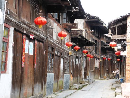 antiguas casas de madera - Интересный Китай