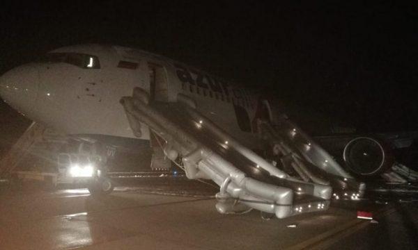 d486e7bb1421032cdcfdb21779c90eb0 600x360 - По данным, предоставленным AZUR air, возгорание не подтвердилось, аэропортовые службы отработали в соответствии с установленными процедурами