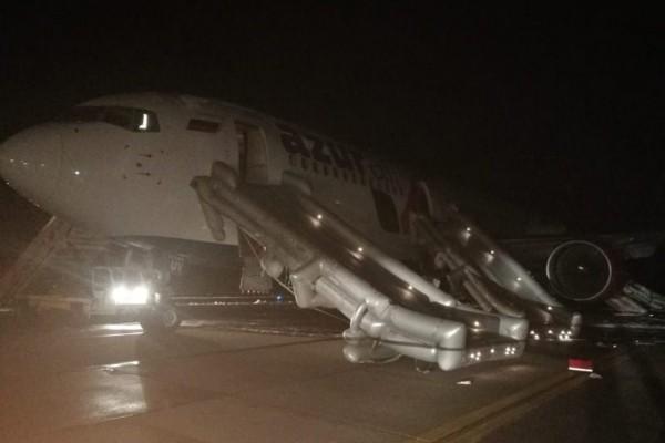 d486e7bb1421032cdcfdb21779c90eb0 - По данным, предоставленным AZUR air, возгорание не подтвердилось, аэропортовые службы отработали в соответствии с установленными процедурами