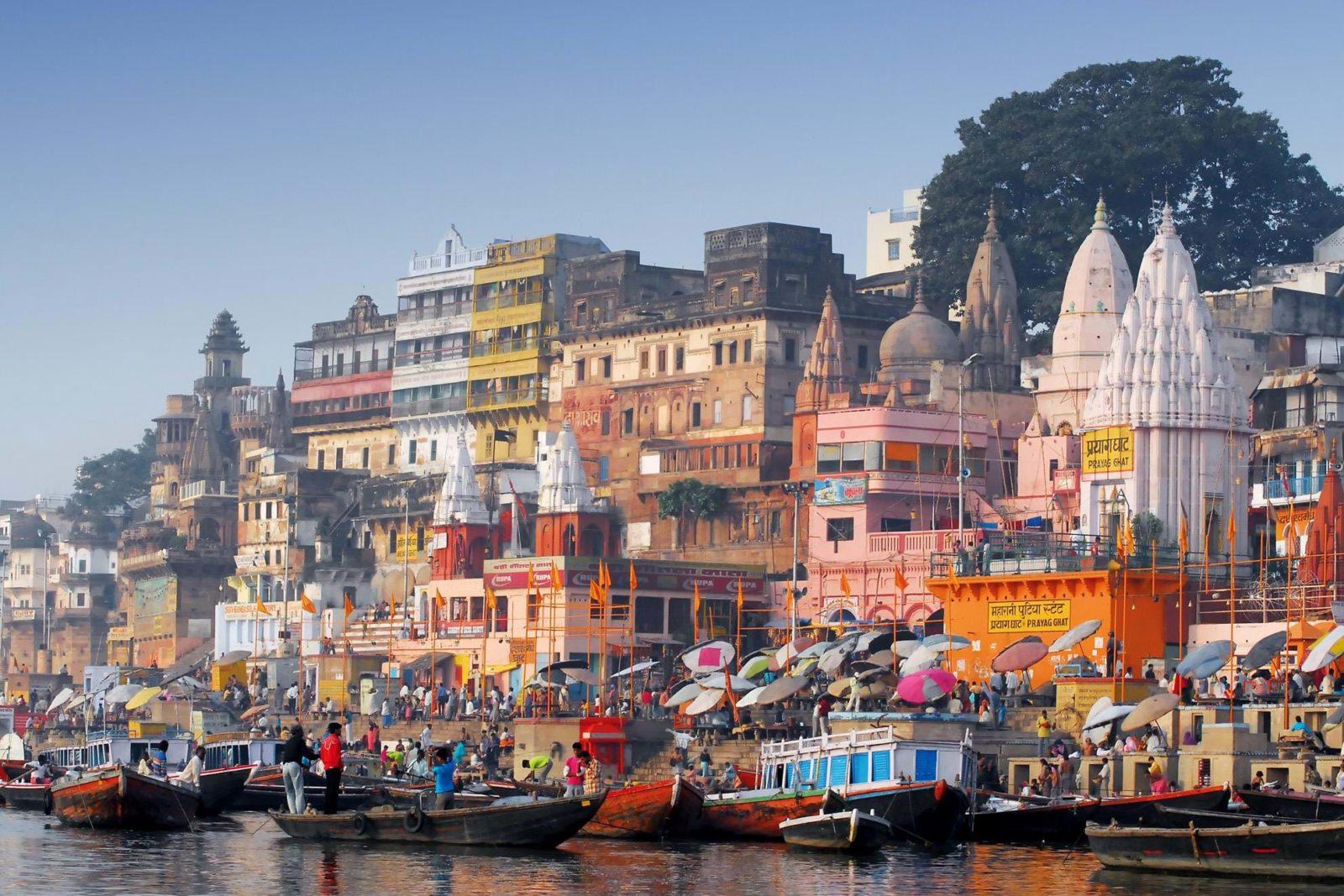 tailormade and group tour india highlight varanasi river - На Новый год в Индию