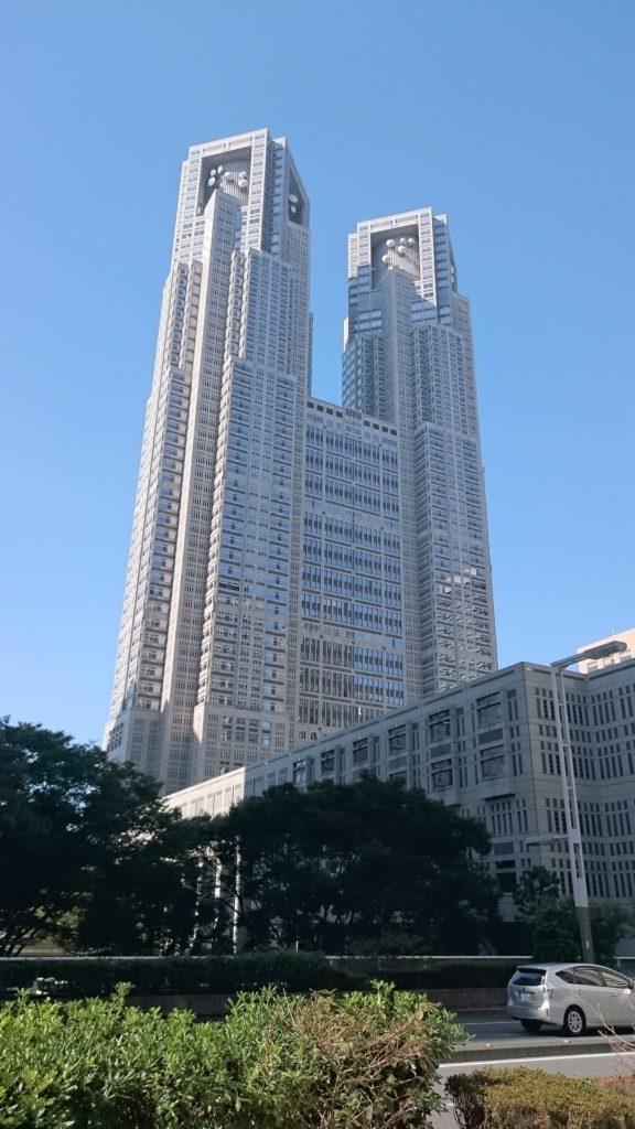 stolichnyj pravitelstvennyj ofis tokio 2 576x1024 1 - Путешествие в Токио