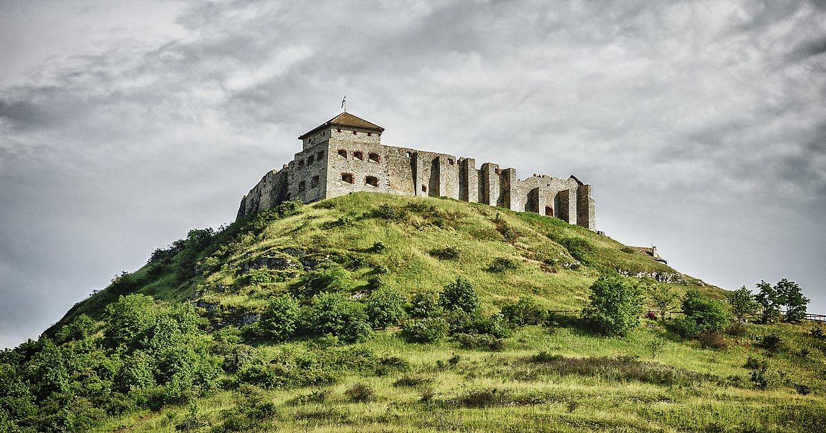 Vengriya - Венгрия: крепость Шюмег