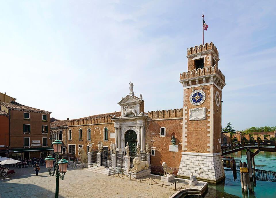 Venetian arsenal - Что посмотреть в Венеции за 4 дня — 30 самых интересных