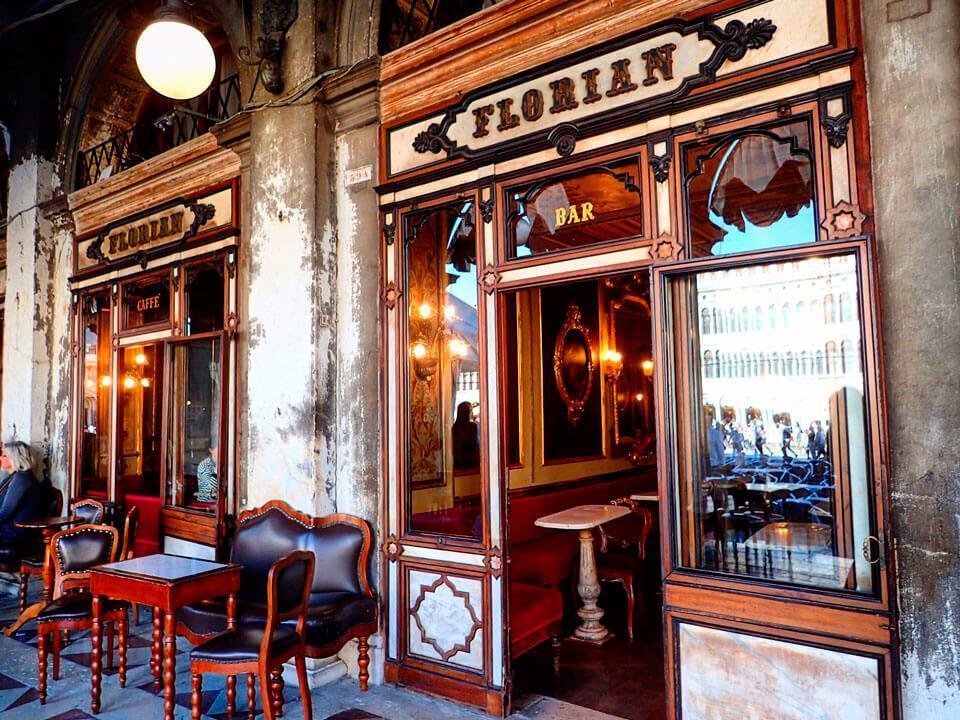 cafe florian - Что посмотреть в Венеции за 4 дня — 30 самых интересных