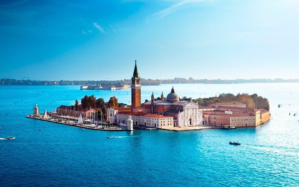 island of San Giorgio Maggiore - Что посмотреть в Венеции за 4 дня — 30 самых интересных