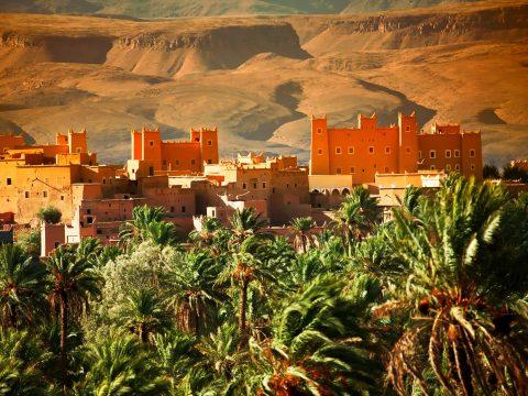 Krepost v Atlasskih gorah Marokko 480x360 - Путешествуй не выходя из дома: Марокко