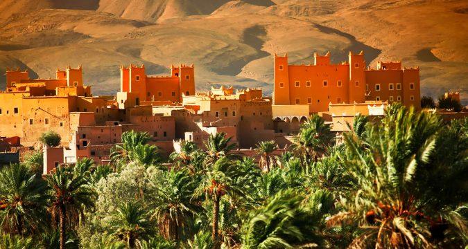 Krepost v Atlasskih gorah Marokko 675x360 - Путешествуй не выходя из дома: Марокко