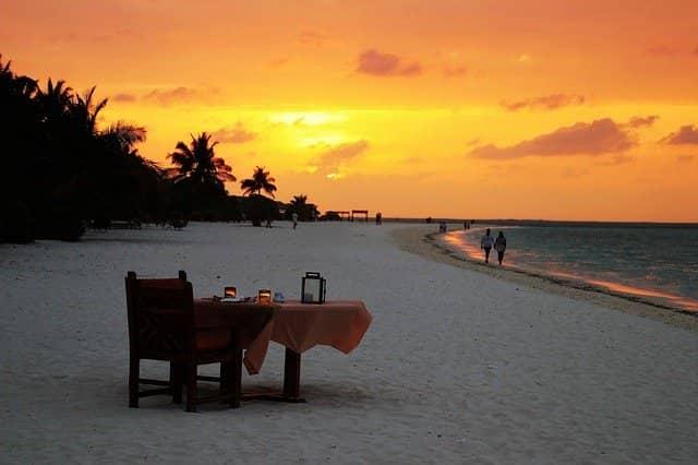 plyazh maldivy - Отдых на Мальдивах