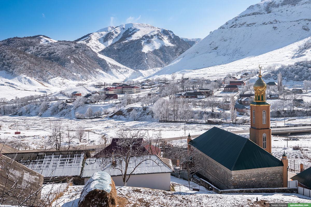 8dad9519ada396093afc1141f1dbf8f2 - Зимняя сказка в Чеченской Республике